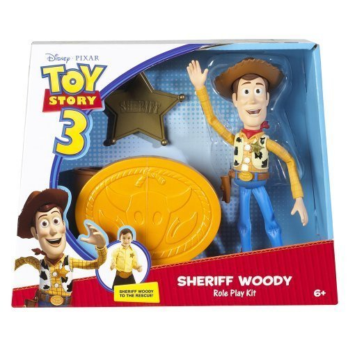 [Disney Toy Story Sheriff Woody Role Play Set Belt Badge] (Woody Toy Story Costume Accessories)