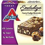 Atkins Endulge Trears, Nutty Fudge Brownie Treat Bar, 1.4 oz. Bars, 5 Count