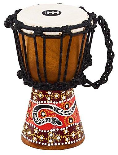 MEINL Percussion マイネル ミニジャンベ African Style Mini Djembe HDJ5-XXS Python Design 【国内正規品】