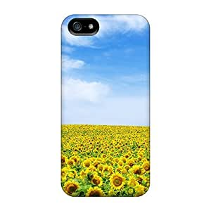 New Premium CC WalkingDead Sunflower Skin Case Cover Excellent Fitted For Iphone 5/5s