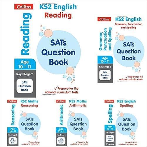 Collins KS2 SATs Question books - 5 books set Product Bundle