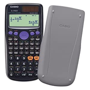 394 Functions and the Number of Functions Mathematics Natural Display Fx-375es-n Black Casio Casio Scientific Calculator