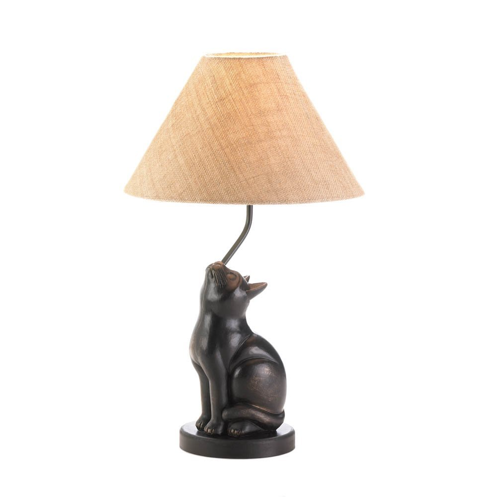 VERDUGO GIFT Curious Cat Lamp Tom & Co. 10017446