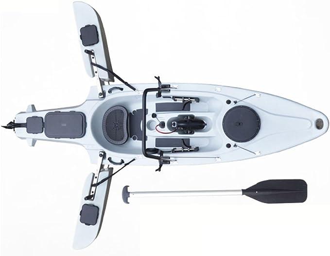 Fissot Newest 1-Person Folding Canoe Fishing Jet Plastic Kayak