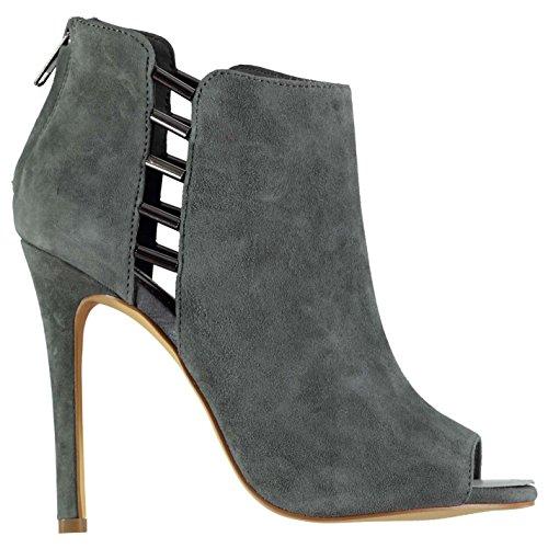 Steve Madden Mujer Lola Botas Tobillo Zapatos Calzado Invierno Casual Gris 40