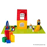 """Brick Building Plates By Lp Toys 10""""x20""""(2 PK) Tight fit with Duplo"""