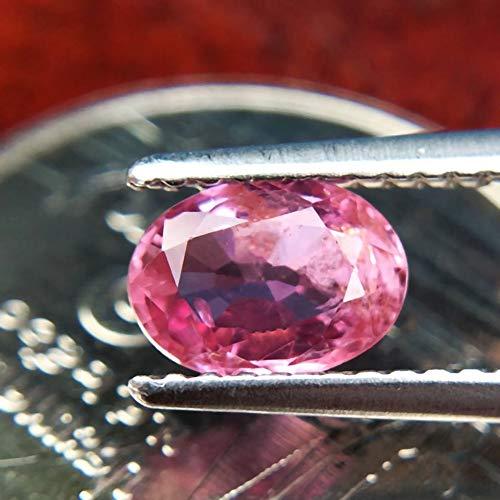 Lovemom 0.96ct Natural Oval Unheated Pink Sapphire Tanzania #R by Lovemom (Image #2)