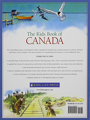 The Kids Book of Canada by Kids Can Press (Image #1)
