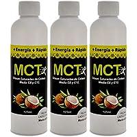 MCT. Paquete de 3 piezas. 100% Natural con 125 mililitros cada uno.