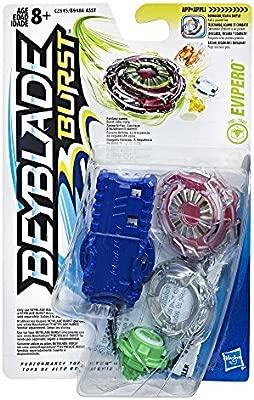 Hasbro Beyblade Evipero - Peonza de batalla, Multicolor ...