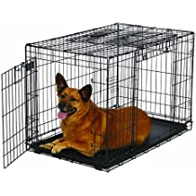 MidWest Homes for Pets Ovation Double Door Dog Crate, 36-Inch