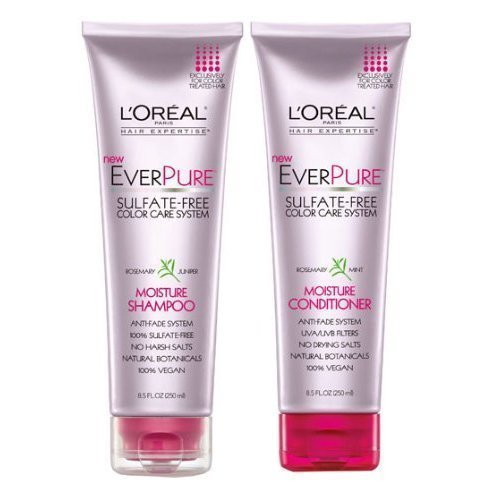 Loreal EverPure Moisture Shampoo & Conditioner Set