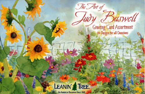 - The Art of Judy Buswell - Leanin' Tree Greeting Cards (AST90608) - 20 cards with full-color interiors and 22 designed envelopes