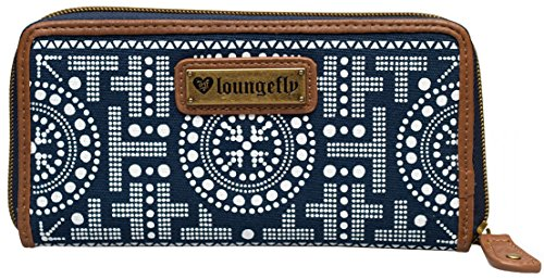 Loungefly Navy & White Owl Wallet