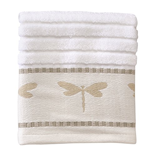 - Creative Bath Products Dragonfly Jacquard Wash Cloth