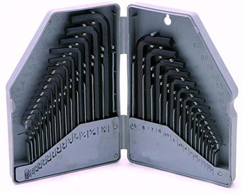 Hexagonal Key Set Allen Alan Allan Hand Tool Sets Metric Imperial Flat Pack Use AutoPower