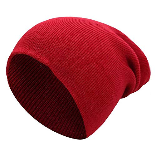 MJ-Young New Beanie Men Women Knitted Cap Winter Stocking Ha