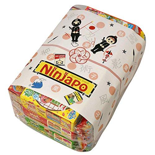 Kracie Japanese DIY Candy ''Popin Cookin & Happy Kitchen'' Assorted 10 set: Doughnut, Hamburger, Pizza, Taiyaki & Odango, Sushi, Bento, Pudding Parfait, Cake, Ramen, Takoyaki (Ninjapo Wrapping) by Kracie (Image #1)