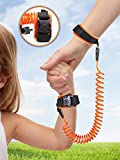 PREMIUM BABY CHILD ANTI-LOST WRIST LINK: Top Safety Velcro Wrist Link Strip With Lock & Key/ Sturdy, Adjustable, Comfortable Harness Strap For Shopping, Walking, Travel With Your Baby Or Kid (1 Pack)