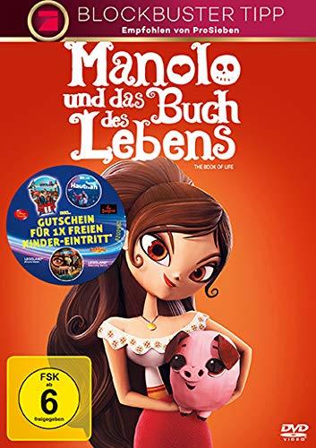 Manolo und das Buch des Lebens [Alemania] [DVD]: Amazon.es