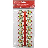 Christmas Cute Santa and Penguin Card Holder Wooden Pegs - Pack of 18