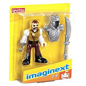Imaginext V5930 pirate with hook hand and dragon armour