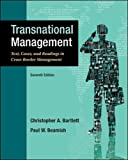 img - for Transnational Management: Text, Cases & Readings in Cross-Border Management (Asia Higher Education Business & Economics Management and Organization) book / textbook / text book