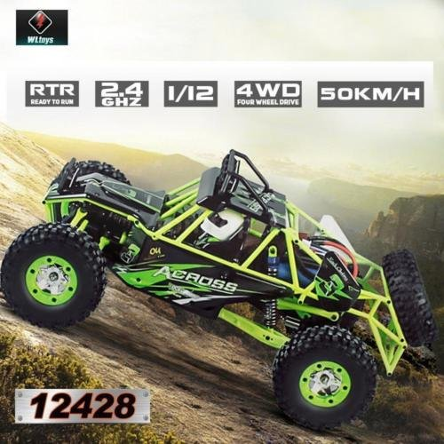Original 1:12 2.4G 4WD RC Off-Road Racing Car Radio Remot...