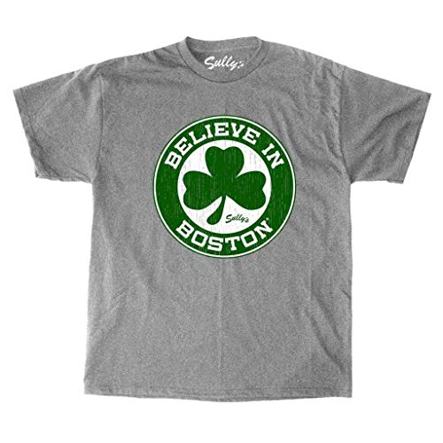 Sully's Brand Believe in Boston - Basketball Shamrock - T-Shirt