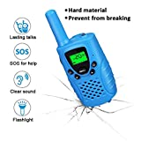 Toys for 3-12 Year Old Boys Girls, Dable Long Range Walkie Talkies for Kids 2018 Gifts for 3-12 Year Old Boy Gifts for 3-12 Year Old Girls Blue DBXJB02