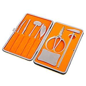 Amazon.com: Seafood Tools, Yamix 8Pcs Lobster Crab Cracker and Forks Tool Set Seafood Tool Kit ...