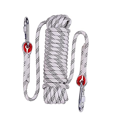 10m,32ft 12mm Diameter Outdoor Hiking Accessories High Strength Cord Safety Rope 30m,94ft Rock Climbing Rope 20m,64ft 94ft Blue Fding