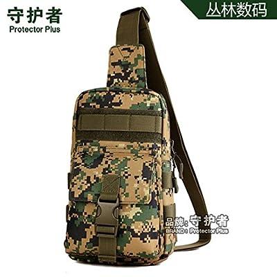 hongrun 7 pouces à écran outdoor wall pack randonnées équitation tactique autour d'une seule bandoulière sac en bandoulière petit paquet loisirs