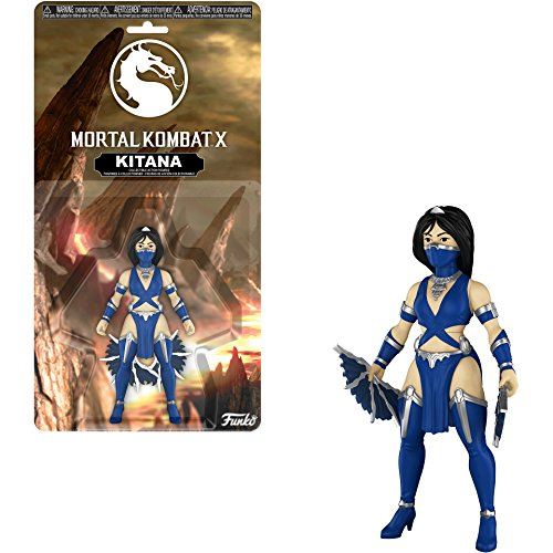 Funko Kitana x Mortal Kombat Mini Action Figure + 1 Video Games Themed Trading Card Bundle]()