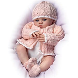 Marissa May Abby Rose Lifelike Baby Doll by The Bradford Exchange