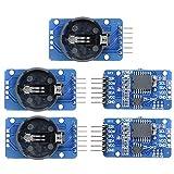 arduino clock module - diymore 5Pcs DS3231 AT24C32 IIC High Precision RTC Module Clock Timer Memory Board Beats DS1307 for Arduino