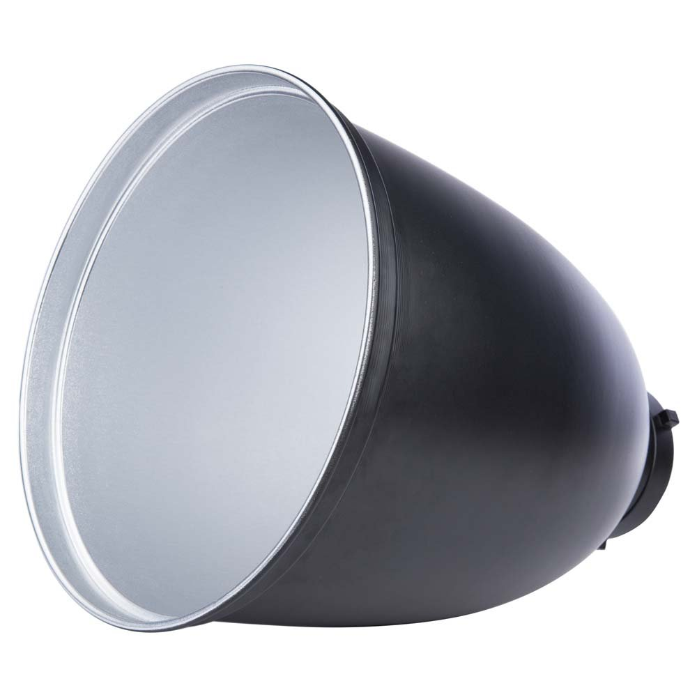 Interfit MR11 Studio Essentials Quality - Deep Zoom Reflector with Bowens S-Type Mount, Silver