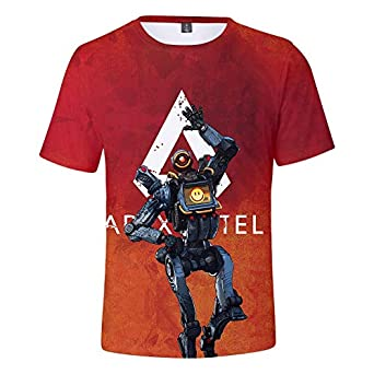 2abf81fe3 Apex Legends Hero Game Peripheral 3D Digital Printed Short-sleeved T-shirt  for Men