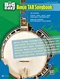 The Big Easy Banjo TAB Songbook, Alfred Publishing Staff, 0739076965