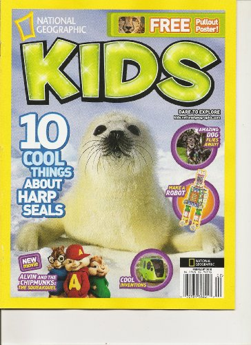 National Geographic Kids (10 cool things about harp seals, February 2010)
