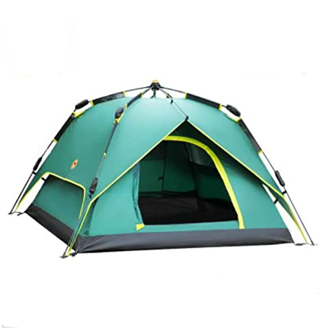 DLLzq Spinning Automatic Pop Up Tent 3-4 Personas Al Aire Libre ...