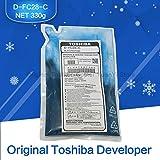 Printer Parts FC28 Developer Original Toshiba Copier Parts Developer D-FC28-C Cyan for Toshiba Copier Model FC-2330C 2830C 2820C 2530C 3530C