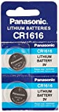 Panasonic CR1616 3V Coin Cell Lithium Battery, Retail Pack...