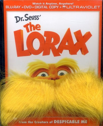 The Lorax Costume (Dr Seuss the Lorax - Gwp W/Mustache)