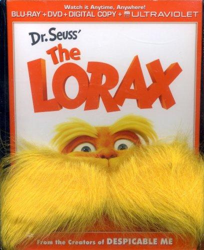 Dr Seuss the Lorax - Gwp W/Mustache [Blu-ray]]()