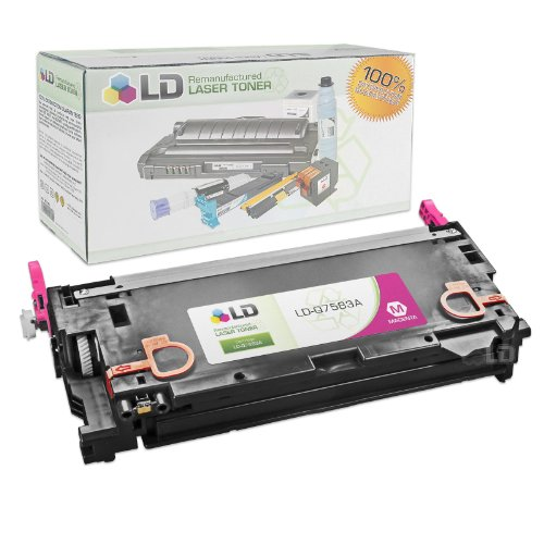 LD Remanufactured Replacement Laser Toner Cartridge for Hewlett Packard Q7583A (HP 503A) Magenta - Hp Q7583a Magenta Toner
