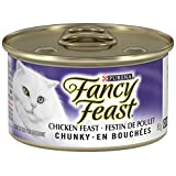 Purina Fancy Feast Chunky Chicken Feast Cat Food 85g Can