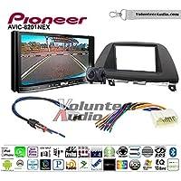 Volunteer Audio Pioneer AVIC-8201NEX Double Din Radio Install Kit with GPS Navigation Apple CarPlay Fits 2005-2007 Honda Odyssey