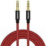 AUX Cable 4ft/ 1.2M YONTEX 3.5mm Nylon Braided Aluminum Shell Audio Cable Male to Male / Auxiliary Cable / Aux Cord for Car Stereos, iPod, iPhone, Beats, Computer, Speaker, MP3 Players etc. (1.2M)