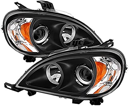 Mercedes M-Class W163 H7 501 100w Clear Xenon HID Low//Side Headlight Bulbs Set